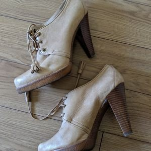 COACH - leather tullah booties